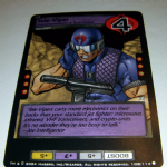 G.I.Joe Trading card Game 2004 108/114 No 108 Tele-Viper (common) @sold@